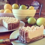 Raw Creamy Winter Citrus Tart