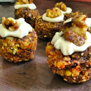 Spicy Carrot Cakes