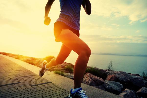 Running feels good!